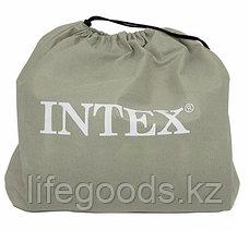 Полутороспальный надувной матрас 191x137x23см с подголовником, Intex 66768, фото 2