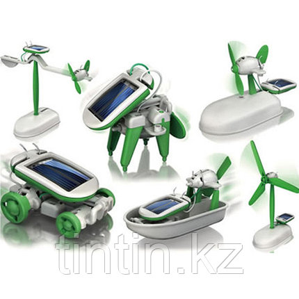 Конструктор 6 в 1 на солнечных батареях, фото 2