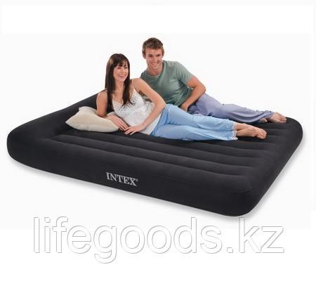 Двуспальный надувной матрас 203x152x23 см, Intex 66769 / 64143