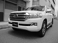 Комплект штатного рестайлинга в 2016 год (пластик) для Toyota Land Cruiser 200, фото 1