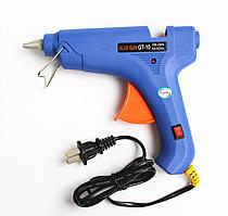 Клеевой пистолет Glue Gun 100 W (синий)