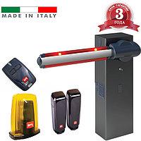 Шлагбаум MOOVI 30 Premium BFT - Италия (открытие 4.0 сек, стрела 4.6 м, до 1200 циклов/24 часа)