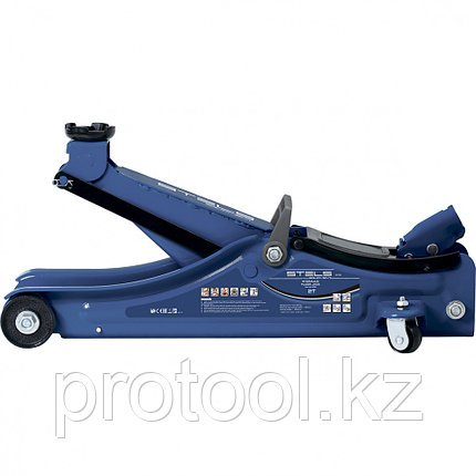 Домкрат гидравлический подкатной,  2т Low Profile, 80-380 мм// STELS, фото 2