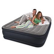 Двуспальная надувная кровать со встроенным насосом, Intex 64136