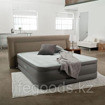 Двуспальная надувная кровать со встроенным насосом, Intex 64486, фото 2