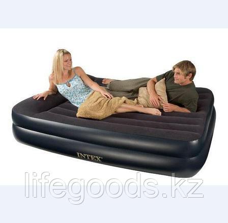 Двуспальная надувная кровать со встроенным насосом, Intex 66702, фото 2