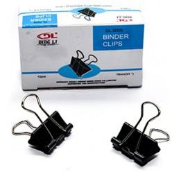 Зажимы для бумаг, 41 мм, по 12 шт в уп BINDER CLIPS