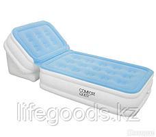 Односпальная надувная кровать с регулируемой спинкой, Bestway 67386, фото 2