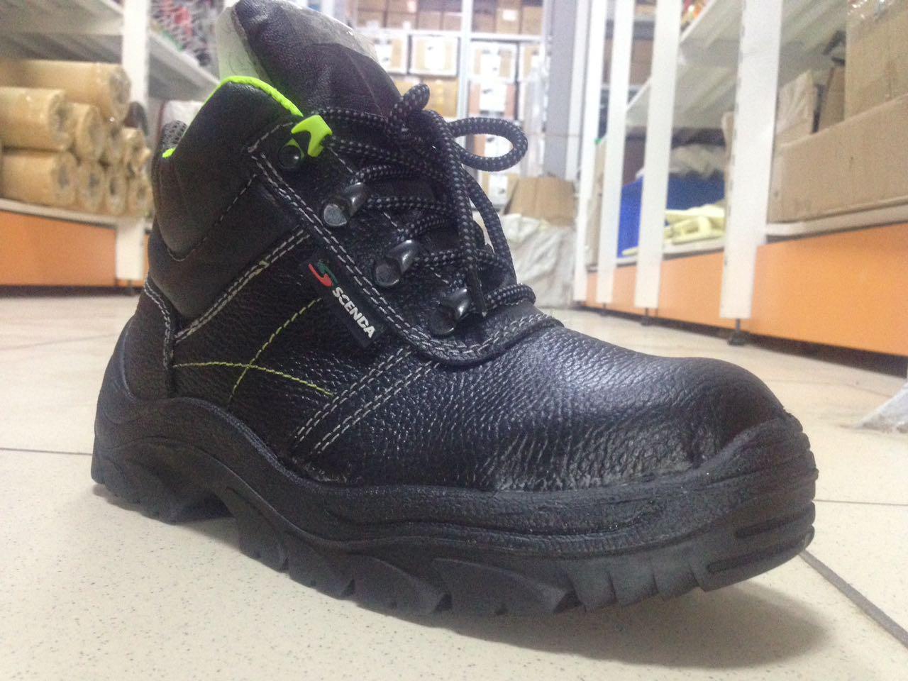 Ботинки кожаные НЕОН Basic ПУ с МП (БОТ 541)