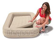 Детская надувная кровать с ручным насосом, Intex 66810, фото 2