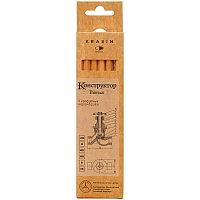 Набор чернографитных карандашей  6шт 2H+H+2штHB+B+2В Конструктор
