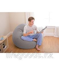 Надувное кресло - пуфик Beanless Bag Chair, Intex 68579, фото 2