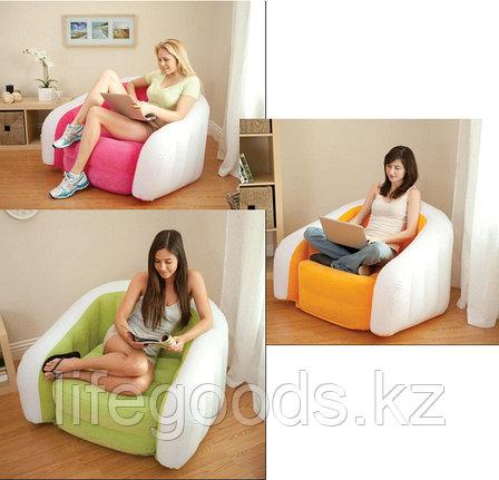 Надувное кресло Cafe Club Chair, Intex 68571, фото 2