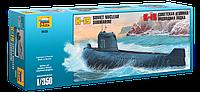 Сборная модель Советская атомная подводная лодка К-19, фото 1