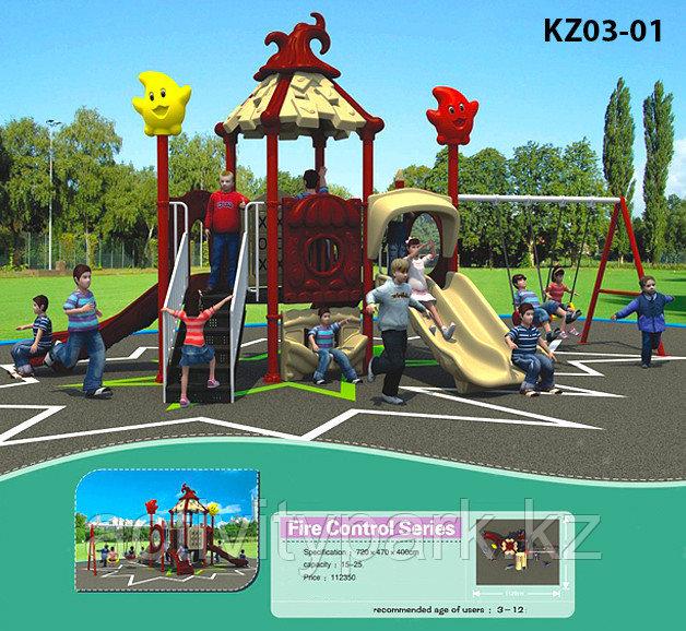 Детские игровые комплексы для бизнеса