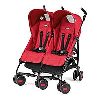 Коляска трость  Peg Perego Pliko Mini Twin (MOD RED)