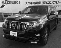 "Обвес ""TRD"" (пластик) для Toyota Land Cruiser Prado"