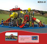 Пластиковые детские площадки