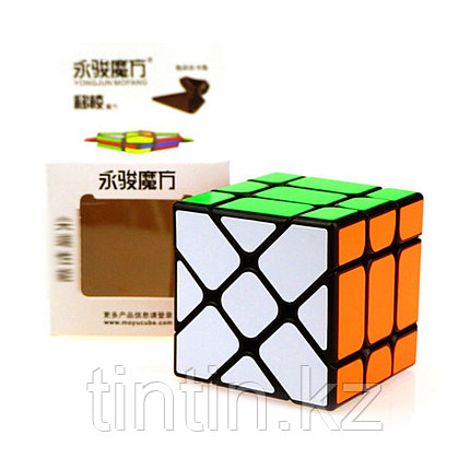 Кубик YJ Fisher Cube 3х3 MoYu, фото 2