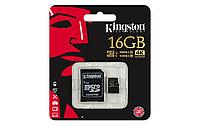 Карта памяти MicroSD 16GB Class 10 U3 Kingston SDCG/16GB