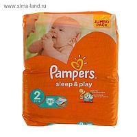 Подгузники Pampers Sleep and Play,  Extra  2 (3-6 кг) , 88 шт.