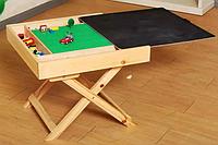 Lego-чемодан БОЛЬШОЙ 48 см *48 см+ ножки складные + полотно + меловая крышка