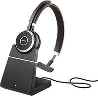 Bluetooth гарнитура с зарядным устройством Jabra Evolve 65 Mono (MS)