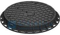 Канализационный люк пластиковый (чёрный) 750*750мм Whatsup 87075705151, фото 1