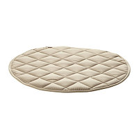 Подушка на стул ХАРРИЕТ бежевый ИКЕА, IKEA
