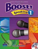 Boost! Level 1 Speaking Student's Book with CD