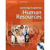 Cambridge English for Human Resources Intermediate to Upper Intermediate Student's Book with Audio CDs (2)
