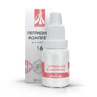 Пептидный комплекс-16 для желудка и 12-перстной кишки. Натуральный.