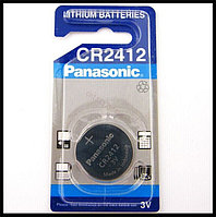 Батарейка литиевая Panasonic CR2412   3v