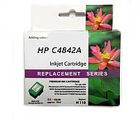 Картридж HP C4842A Yellow Ink Cartridge №10, 28ml