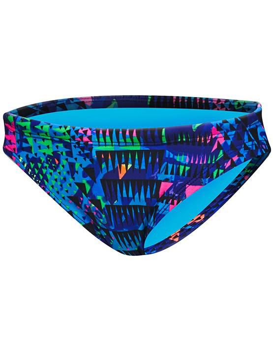 Плавки женские TYR Machu Bikini Bottom цвет 461 Голубой/Мульти размер XS