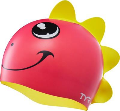 Шапочка для плавания детская TYR Charactyrs Dino Diva Cap