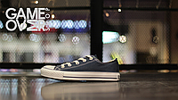 Converse All Star low navy blue (реплика)