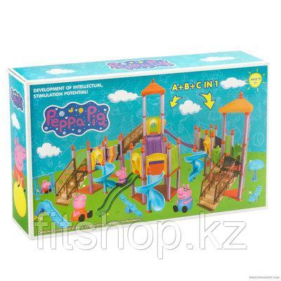 """Игровой набор """"Детская площадка  свинки Пеппы (Peppa Pig)"""" 102 детали"""