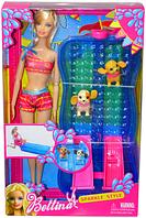 68012 Bettina  Барби с бассейном и 2 собачки    33*21                                                    , фото 1