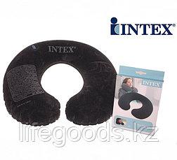Надувная дорожная подушка - подголовник, Intex 68675, фото 3