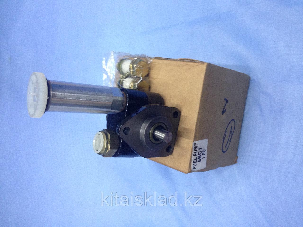 Подкачка ТНВД 6BG1, ручная подкачка топлива 6BG1, топливный насос низкого давления ТННД 6BG1