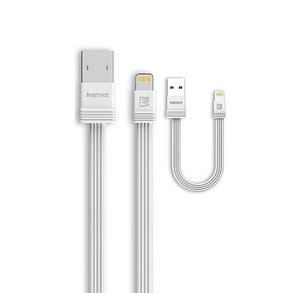 Кабель Remax RC-062i Lightning USB iPhone White, фото 2