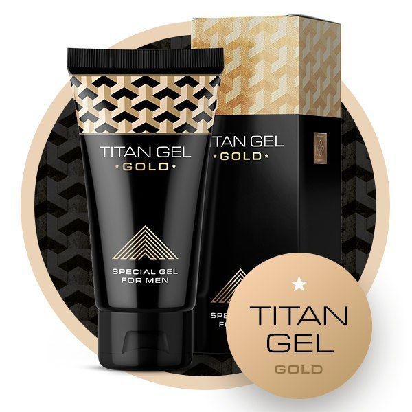 Titan Gel Gold (Титан Гель Голд) гель для увеличения пениса