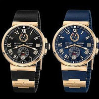 Часы Ulysse Nardin Maxi Marine + Портмоне Baellerry Business, фото 1
