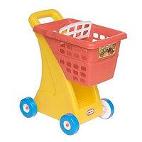 612428 Игрушка корзина для покупок, желто-красная США