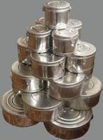 Коробка стерилизационная круглая КСК-18 без фильтра