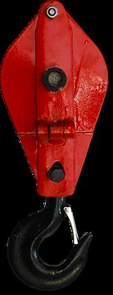 Блок монтажный г/п 10 тн (однорольный), фото 2