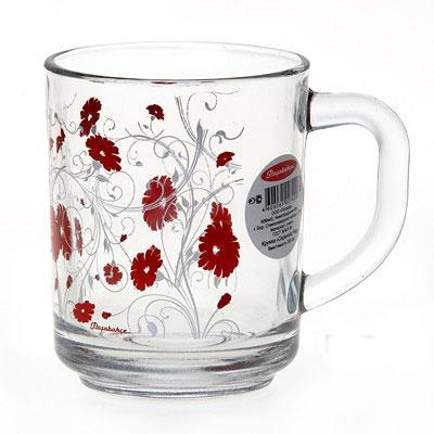 Кружка Pasabahce Red Serenade 250 мл