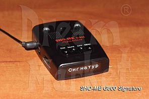 Sho-Me G-800 Signature, база камер, GPS