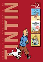 The adventures of Tintin, vol. 3: the crab with the golden claws / the shooting star / the secret of the unico
